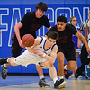 Salem at Danvers boys varsity basketball game