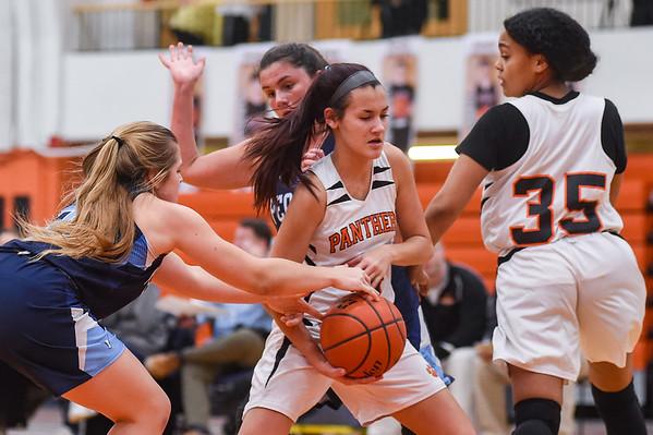 Peabody at Beverly girls varsity basketball