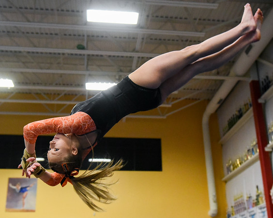 Beverly vs. Danvers varsity gymnastics meet