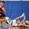 Newburyport at Hamilton-Wenham boys varsity basketball game