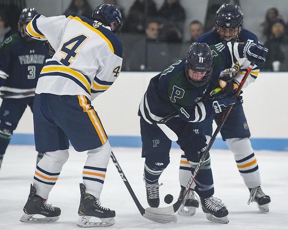 Pingree boys varsity hockey vs. BB&N