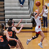 Beverly at Masconomet girls varsity basketball game