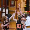 Beverly at Masconomet girls varsity basketball game