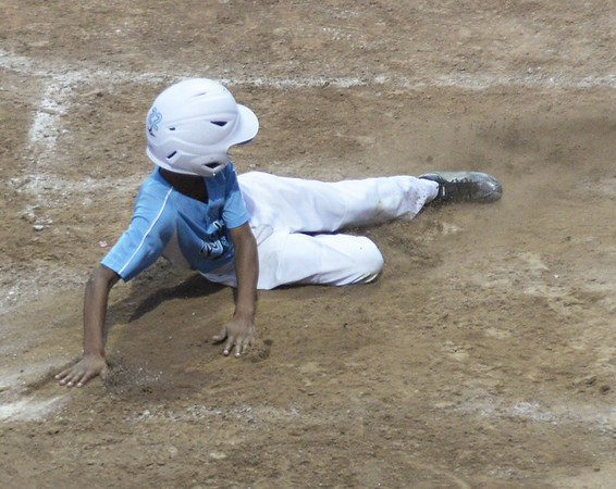 Peabody Little League all-stars defeated North Andover National 6-2 in Section Four Little League sectional tournament. Thursday night.
