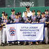 HADLEY GREEN/ Staff photo<br /> Gloucester won the 2017 Little League District Finals against Beverly. 7/14/17