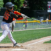 AMANDA SABGA/Staff photo<br /> <br /> Beverly's Gavin Gold (25) at bat during a game against Amesbury at the Harry Ball Field in Beverly.<br /> <br /> 7/7/18