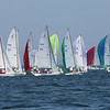 HADLEY GREEN/Staff photo<br /> J 70 boats compete at the Helly Hansen NOOD Regatta at Marblehead Race Week. <br /> <br /> 07/27/2018