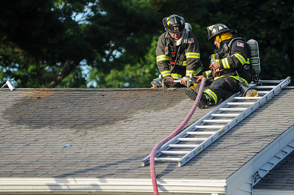 Smoke witnessed by neighbors in Danvers