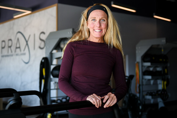 Praxis Performance & Wellness in the North Shore Crossing Plaza in Beverly
