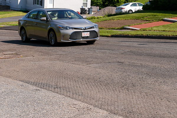 Harrison Avenue in Peabody road paving