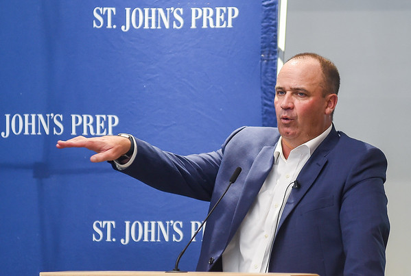 Houston Texans Head Coach and St. John's Prep Class of 1988 Bill O'Brien