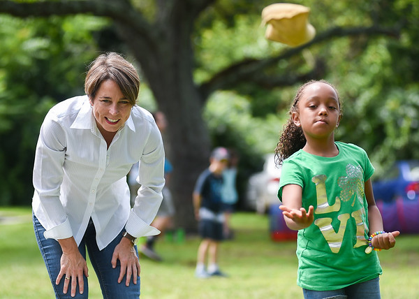 Attorney General Maura Healey in Salem