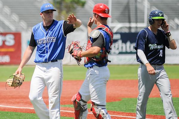 North Shore Navigators vs Worcester Bravehearts baseball
