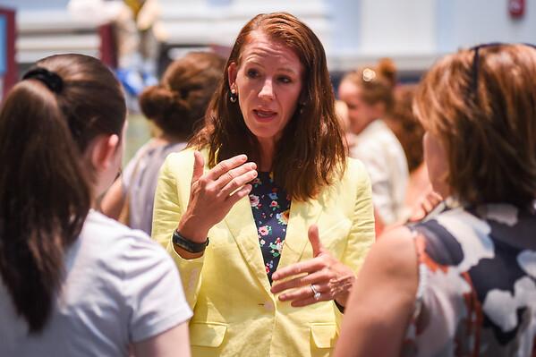 Meet and greet with new Salem High interim principal