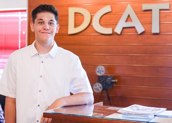 Harrison Davis makes his mark at NSCC and at DCAT