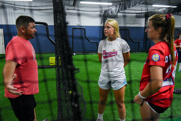 Softball tryout feature