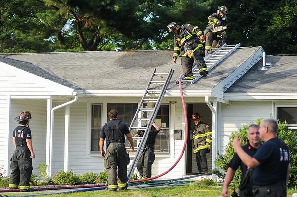 Smoke witnessed by neighbors in Danvers
