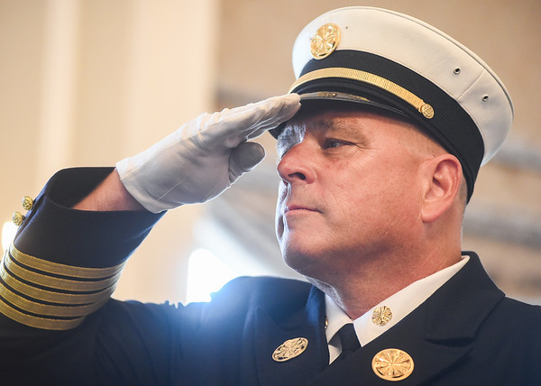 Swearing in ceremony for new Salem fire Chief Alan Dionne