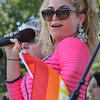 "Lead singer of the goup Gunpoder Gelatine - a Queen tribute band - Bethany Hanley sings the Queen hit ""Somebody to Love"" to the delight of the North Shore Pride parade goers.<br /> <br /> Photo by joebrownphotos.com"