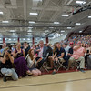 Field House is lined with friends and famiy taking photos of the graduates at Masconomet Regional High School graduation, Friday, June 3rd, 2016. JARED CHARNEY/Photo.<br /> June 3, 2016