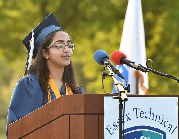 One of two Essex Technical High School Valedictorians is Danvers's Prabhjyot Kaur who is graduating from the Information Tech Services program.<br /> <br /> Photo by joebrownphotos.com