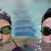 DAVID LE/Staff photo. Recently Beverly High School graduates Sarah Welch, right, and Kaitlin Harty, will be swimming in the Olympic trials next week. 6/23/16.