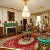 KEN YUSZKUS/Staff photo.     The formal salon room at the Henry Audesse mansion in Wenham.     06/28/16