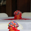 AMY SWEENEY/Staff photo. Lollipops decorated the tables for the reception. Joseph A. O'Keefe Sr. was known for always having a lollypop.  The building that houses Salem Fire Engine 5 was dedicated to Joseph O'Keefe, a beloved city official who died in September 2015. He had a long and celebrated tenure on City Council. O'Keefe also served as state fire marshal from 1977 to 1992.