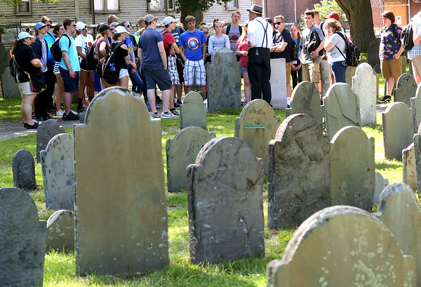 The city is putting several upgrades into the Charter Street Burial Ground,