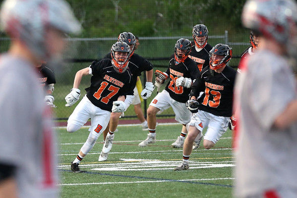 HADLEY GREEN/ Staff photo<br /> Beverly Panthers sprint around the field after their win against Wakefield. 6/10/17