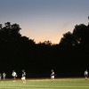HADLEY GREEN/ Staff photo<br /> The sun goes down during the Hingham v. Beverly boys lacrosse Division 2 state semifinals game at Norwell High School. 6/14/17