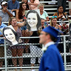 HADLEY GREEN/ Staff photo<br /> Family and friends applaud graduates at the Danvers High School graduation ceremony. 6/10/17