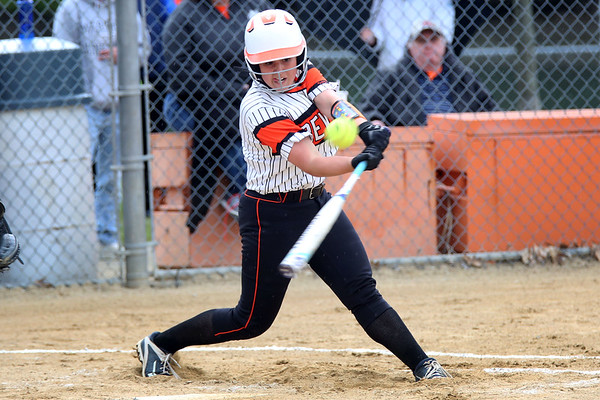HADLEY GREEN/ Staff photo<br /> Beverly's Julia Pitman (9) goes up to bat at the Beverly v. Billerica Division 1 North first round playoff game at the Innocenti Field in Beverly. 6/03/17