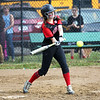 Staff photo/ HADLEY GREEN<br /> Marblehead's Emma Ferante (6) goes up to bat. <br /> <br /> 06/08/2018