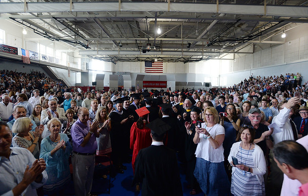 Marblehead High School's graduation