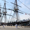 Staff photo/ HADLEY GREEN<br /> The USS Constitution is docked at the Charlestown Navy Yard in Boston. <br /> <br /> 06/29/2018