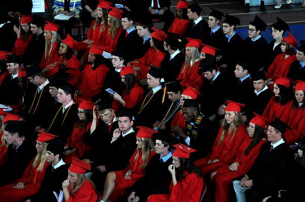 Marblehead High School's graduation