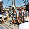 Staff photo/ HADLEY GREEN<br /> Family and friends of Salem native Capt. Stephen Cook attend his retirement ceremony aboard the USS Constitution. <br /> <br /> 06/29/2018