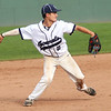 Staff photo/ HADLEY GREEN<br /> Hamilton-Wenham's Cam Vautour (2) makes a play in the last inning of the team's contest against Archbishop Williams at Campanelli Stadium in Brockton.<br /> <br /> 06/20/2018