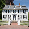 AMY SWEENEY/Staff photo.  <br /> he Ropes Mansion (late 1720s), also called Ropes Memorial, is a Georgian Colonial mansion located at 318 Essex Street, located in the McIntire Historic District in Salem, Massachusetts. It is now operated by the Peabody Essex Museum and open to the public.<br /> June 2018​