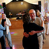Staff photo/ HADLEY GREEN<br /> People dance to oldies at the Teen Town Reunion party at the Holy Ghost Society in Peabody on Friday evening.<br /> <br /> 06/15/2018