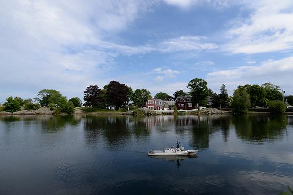 Home Port Models at Redd's pond