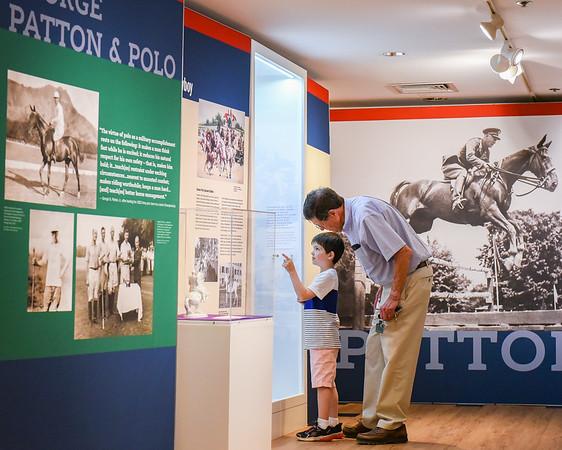 Equestrian Exhibit at the Wenham Museum