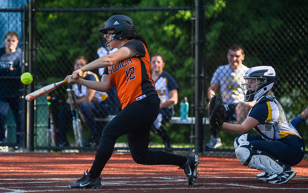 Ipswich at Lynnfield playoff softball game