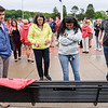 Unveiling of bench in memory of Max Carbone
