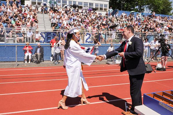 2021 Peabody High School graduation
