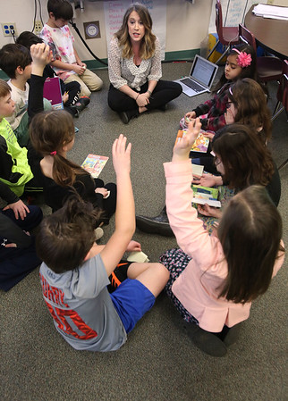 Cove Elementary School students working on new technology projects