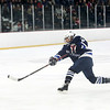 HADLEY GREEN/Staff photo<br /> Swampscott's Chris Barnes (6) shoots at the Swampscott v. Hanover Division 3 state semifinals game at the Stoneham Arena.<br /> <br /> 03/14/18