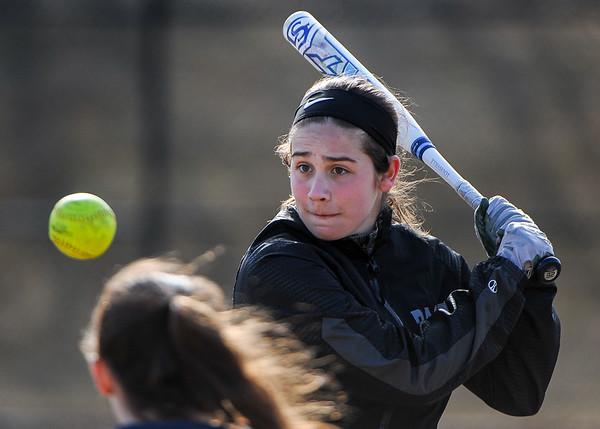 Bishop Fenwick HS softball practice