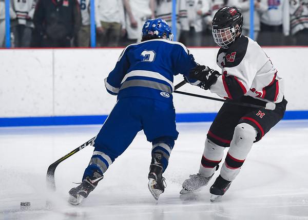 Danvers vs Marblehead hockey